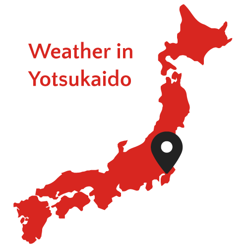 Weather in Yotsukaido